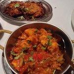 Bombay Aloo and Onion Bhaji Sides