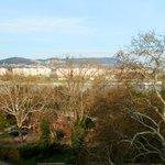Вид из окна на Дунай