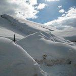 centro visitatori nella neve!