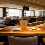 Lounge del Cafe y Cigar Club, SAX Palace, Piso 12