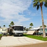 Our large, level RV spaces fit any size rig