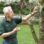 Volunteer George Heasley during one of his nature walks
