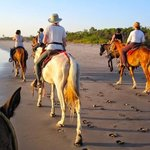 Sunset Horse Riding Trip on Beach