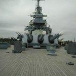 Front View Battleship NC