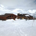 the new erstrooms and warming hut complete with food and drink well up the mountains