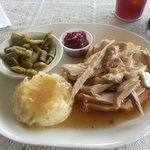Open Faced Turkey Sandwich $7.50
