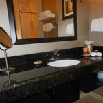 Lovely large mirror and skin unit