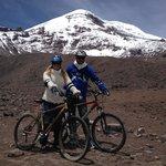biking the volcano
