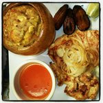 mofongo chicken steak sweet plantain