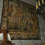 Preciosos tapices y antiguedades
