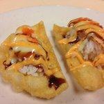 Asian Sushi Taco