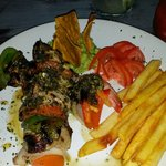 Shrimp and beef brochettes - yummy!
