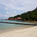 Own private beach