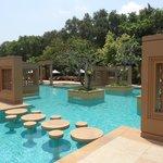 The Khmer inspired pool