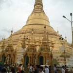 The Shwedagon is very close by