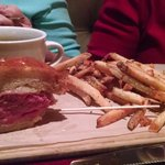 French Dip Au Juice with Fries