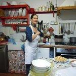 Manuela instructing
