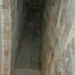 El tiro de la antigua chimenea