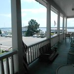 The view from the veranda.