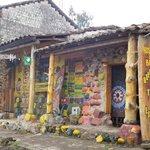 Una casa de cuento en un pueblo de Esperanza puedes hacer trekking a volcan imbabura y otrasmont