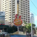 Down at the end of lonely street... Hard Rock cafe