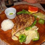 Main course, red seared then rare tuna!