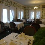 small but elegant dinning room called Clara's