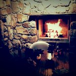 fireplace at sugarbush