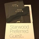 room was upgraded because of my SPG membership