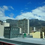 View of table mountain from room 604