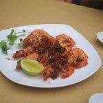 fresh tasting prawns