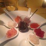 8 assaggi di sashimi