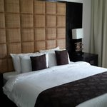 Rica y moderna cama