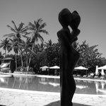 Estatuilla esculpida a mano que compré en la zona como simbolo de nuestra estadía en hotel Hespe