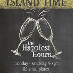 """The best """"Happiest Hours"""" deal on island. Period."""