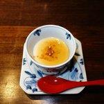 朝食(豆乳プリン)