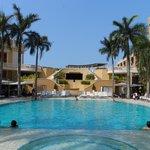 La piscina del Hotel Santa Clara
