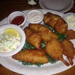 The Sampler-Perch,Walleye & Shrimp