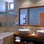 Suite Bathroom at Mamaison Hotel Riverside Prague