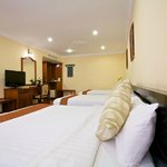 Deluxe Triple Room Accommodation are the great choice of family trip.