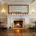 Chop House Restaurant Fireplace