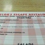 Bilde fra Taylor's Escape