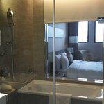 Room 1107. Great size. Very clean. Modern