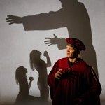Shadow play in Purgatorio April 2014