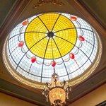 Dome installed to honour visit of Duke & Duchess of York