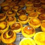 Portuguese tarts yum!