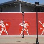 Batting Mural