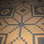 Mosaik gulv