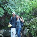 Our trekking guide , Mengku