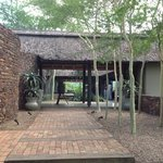 entrance to Phinda Mountain Lodge